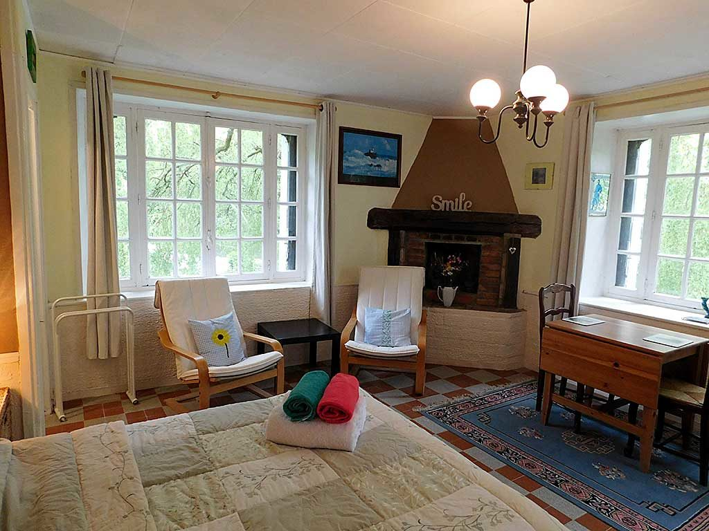studio holiday cottage for 2 people in Calvados Normandy