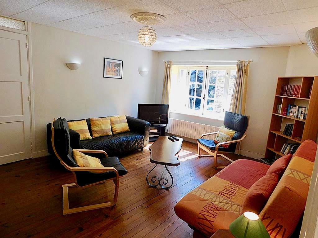 Calvados Normandy holiday cottages | gite du cadran solaire living room